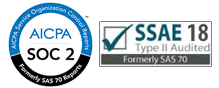 SSAE 18 SOC 2 Audited