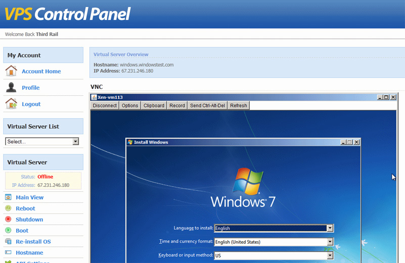 free vps windows server 2008 r2